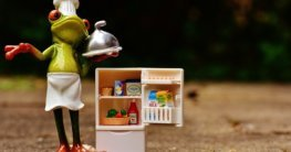 Mini Kühlschrank mit Gefrierfach